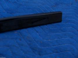 BLACK LEFT DOOR TRIM MOLDING  2000 2001 DEVILLE DHS DTS OEM USED ORIG GM PART image 6