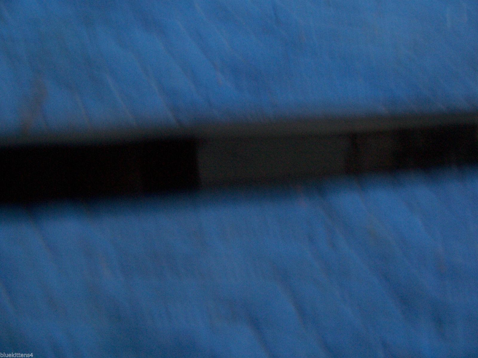 BLACK LEFT DOOR TRIM MOLDING  2000 2001 DEVILLE DHS DTS OEM USED ORIG GM PART image 5