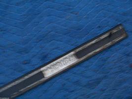 BLACK LEFT DOOR TRIM MOLDING  2000 2001 DEVILLE DHS DTS OEM USED ORIG GM PART image 8