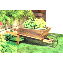 Country Flower Cart Planter - $33.00