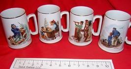 Set of 4 Norman Rockwell Mugs - $25.49
