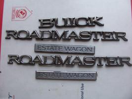 1996 ROADMASTER ESTATE WAGON SIDE & REAR 5 TRIM EMBLEM S OEM USED ORIG 1995 1994 image 1