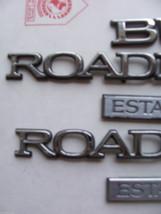 1996 ROADMASTER ESTATE WAGON SIDE & REAR 5 TRIM EMBLEM S OEM USED ORIG 1995 1994 image 2