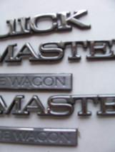 1996 ROADMASTER ESTATE WAGON SIDE & REAR 5 TRIM EMBLEM S OEM USED ORIG 1995 1994 image 3