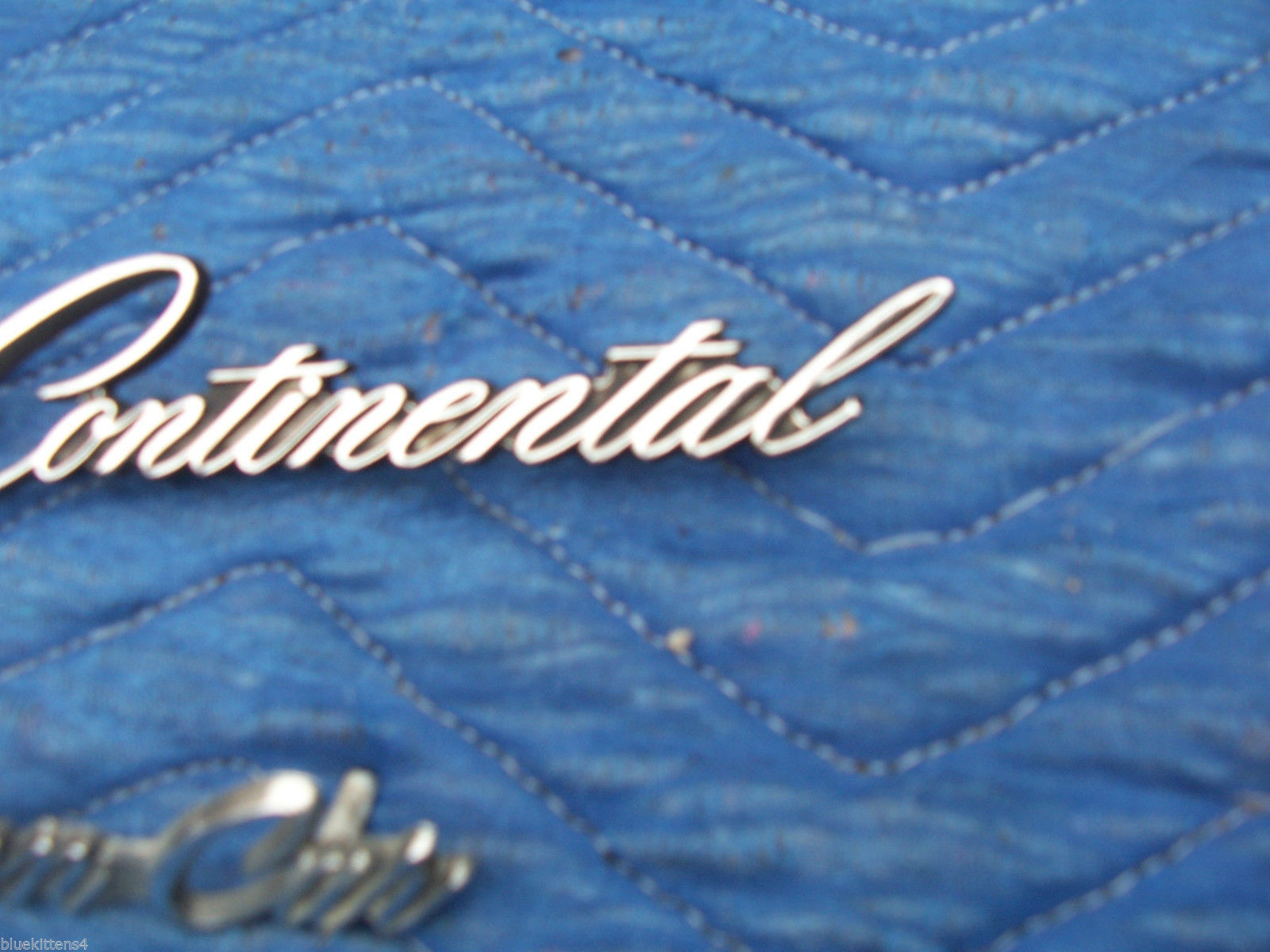 1978 1979 CONTINENTAL TOWNCAR FENDER TRIM EMBLEM ORNAMENT OEM USED LINCOLN PART image 4
