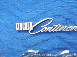 1978 1979 CONTINENTAL TOWNCAR FENDER TRIM EMBLEM ORNAMENT OEM USED LINCOLN PART image 3