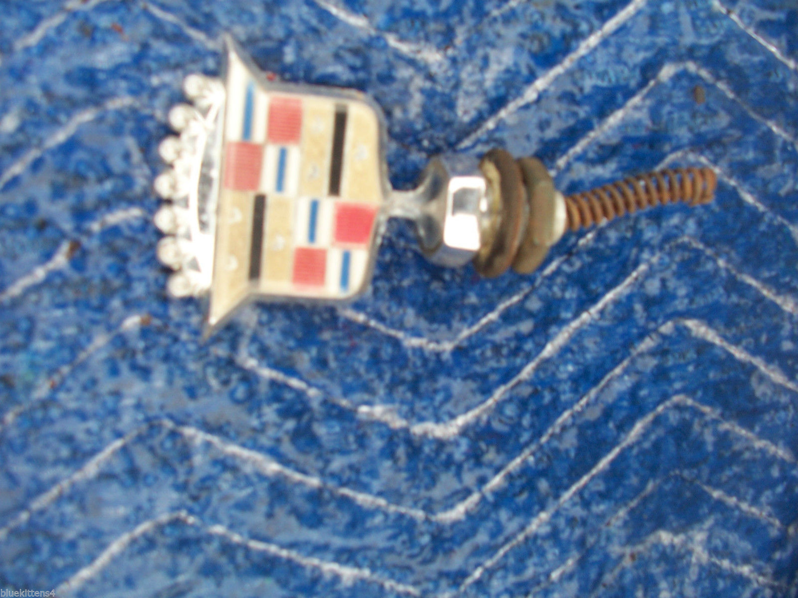 1979 COUPE DEVILLE HOOD ORNAMENT EMBLEM OEM USED GENUINE GM CADILLAC PART 1978 image 5