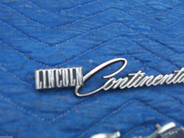 1978 1979 CONTINENTAL TOWNCAR FENDER TRIM EMBLEM ORNAMENT OEM USED LINCOLN PART image 5