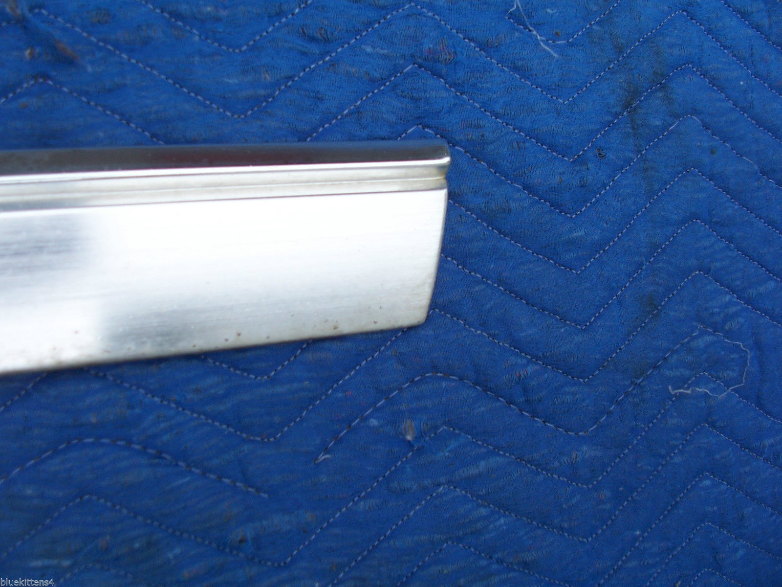 1978 CONTINENTAL TOWNCAR RIGHT REAR 1/4 FENDER ROCKER TRIM MOLDING PANEL OE USED image 6