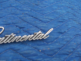 1978 1979 CONTINENTAL TOWNCAR FENDER TRIM EMBLEM ORNAMENT OEM USED LINCOLN PART image 6
