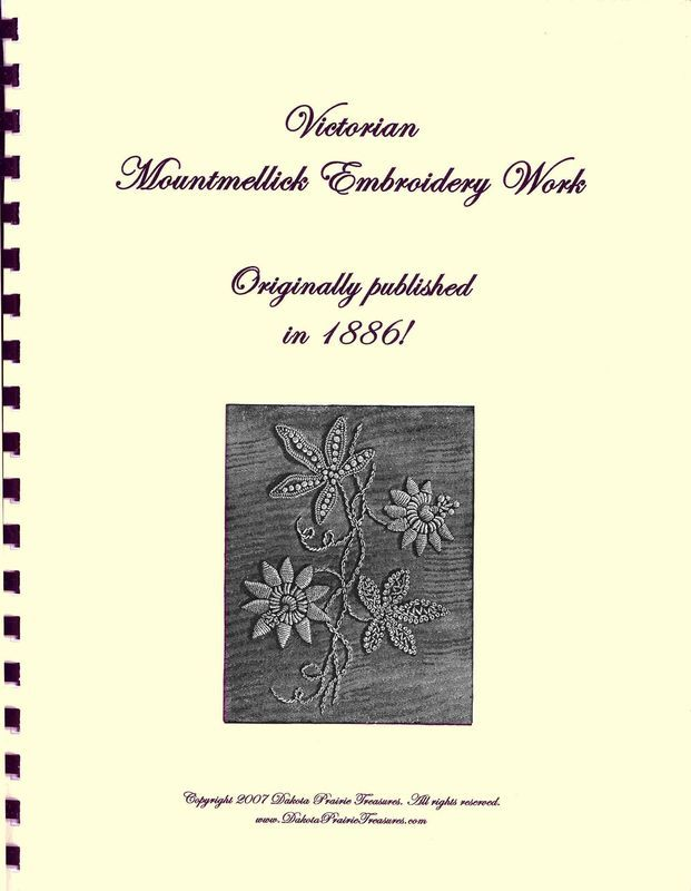Primary image for 1886 Victorian Era Mountmellick Embroidery Stitch Design Book Patterns Reenact