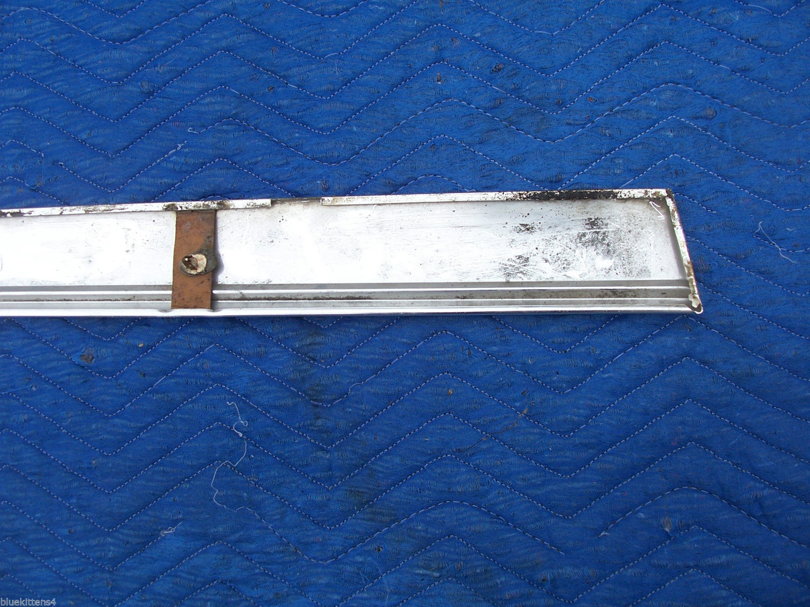 1978 CONTINENTAL TOWNCAR RIGHT REAR 1/4 FENDER ROCKER TRIM MOLDING PANEL OE USED image 8