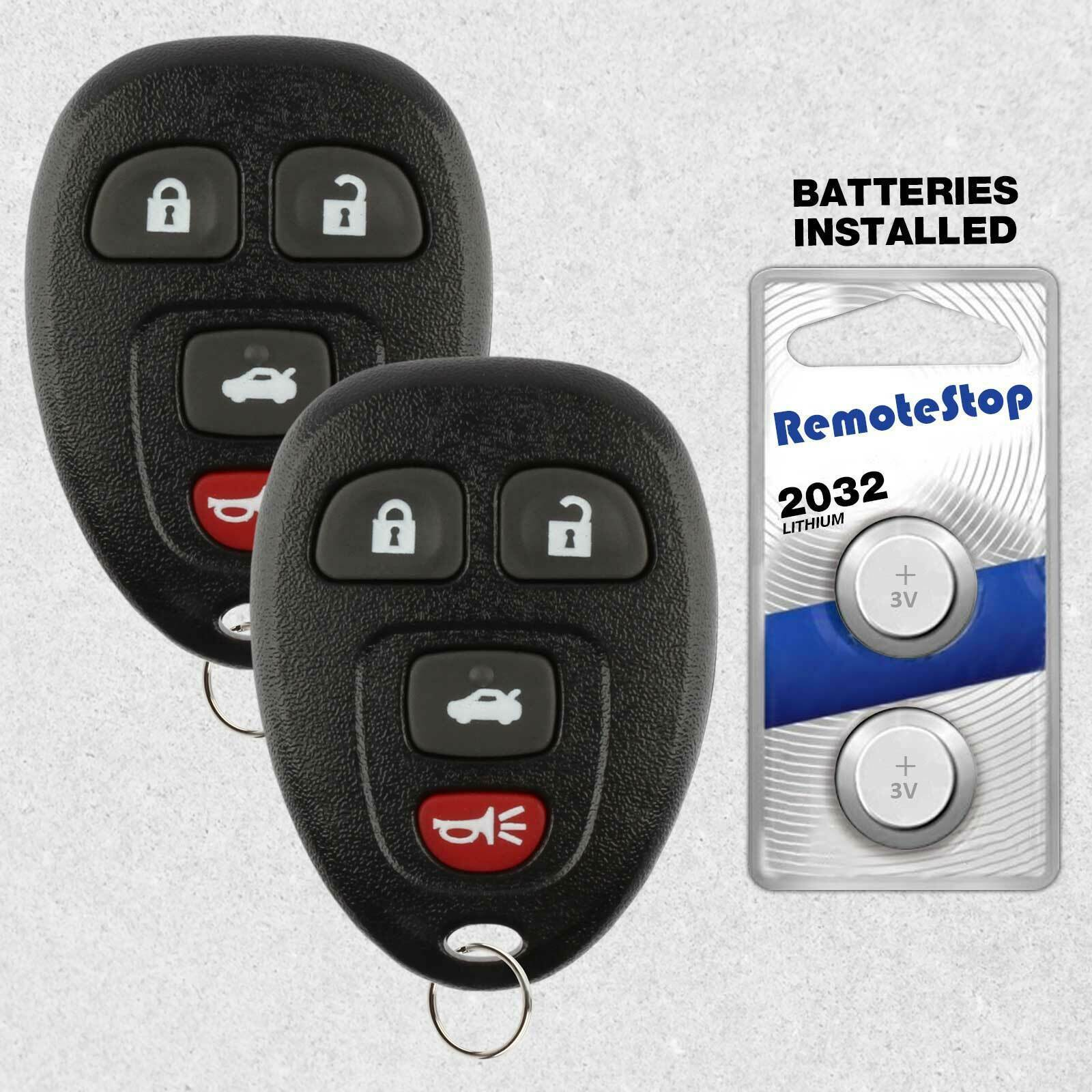 Primary image for 2 For 2007 2008 2009 2010 Pontiac G5 G6 Keyless Entry Remote Car Key Fob