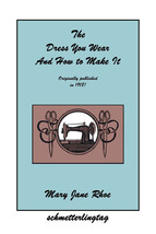 1918 How to Make Dresses Book Titanic WWI Era Dress DIY Reenactment Frocks Garb - $12.99