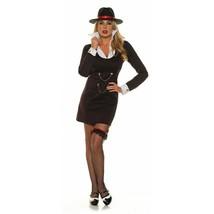 Underwraps Mujer Suerte 1920s Gánster Mafia Adulto Mujer Disfraz Hallowe... - $32.54