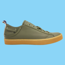 DIESEL Exposure I Low Olive Night Fashion Sneakers Mens Size 9 New Authe... - $121.54