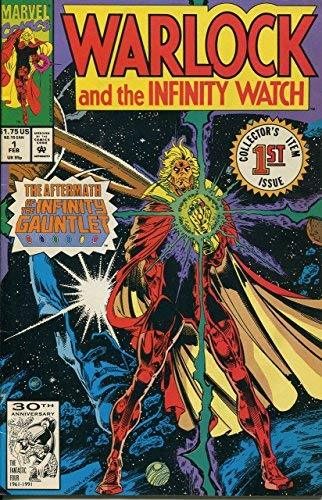 Warlock and the Infinity Watch #1 [Comic] [Jan 01, 1992] Jim Starlin