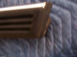 1988 LINCOLN MARK VII 7 RIGHT QUARTER REAR TRIM MOLDING OEM USED 1990 1992 1984 image 6