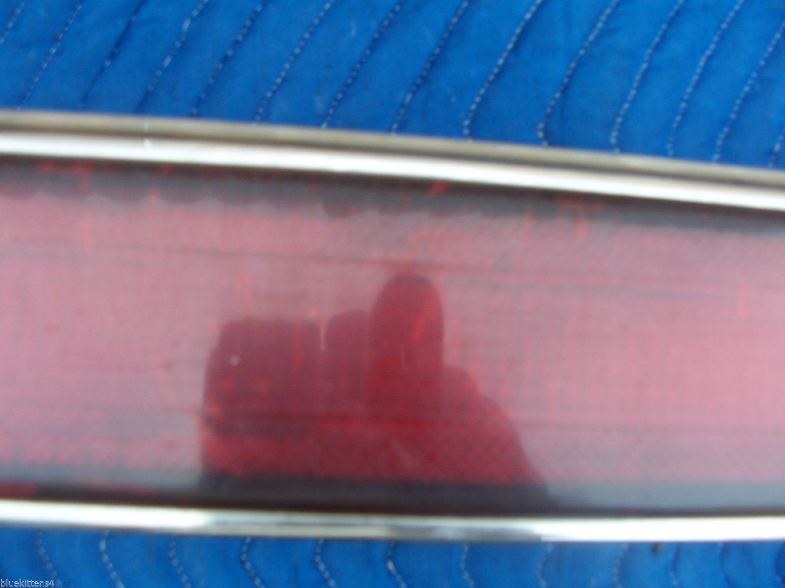 1990 1991 CADILLAC SEVILLE LEFT TAILLIGHT OEM USED GM CADILLAC PART NUMBER image 4