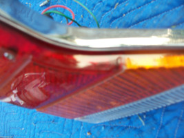 1982 JAGUAR XJ 6 LEFT TAILLIGHT ASSEMBLY OEM USED ORIG 1980 1981 1983 image 3