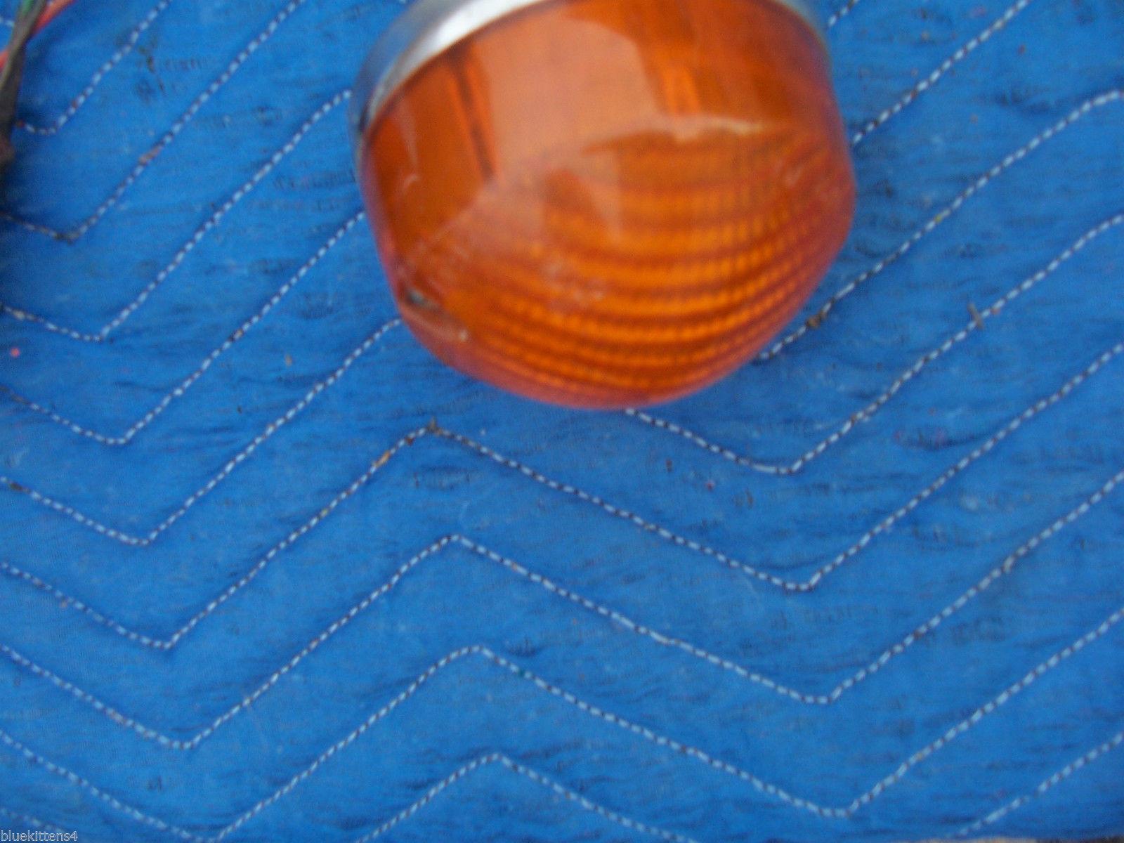 1971 LOTUS EUROPA RIGHT FRONT MARKER LIGHT OEM USED ORIGINAL LUCAS ENGLAND PART image 4