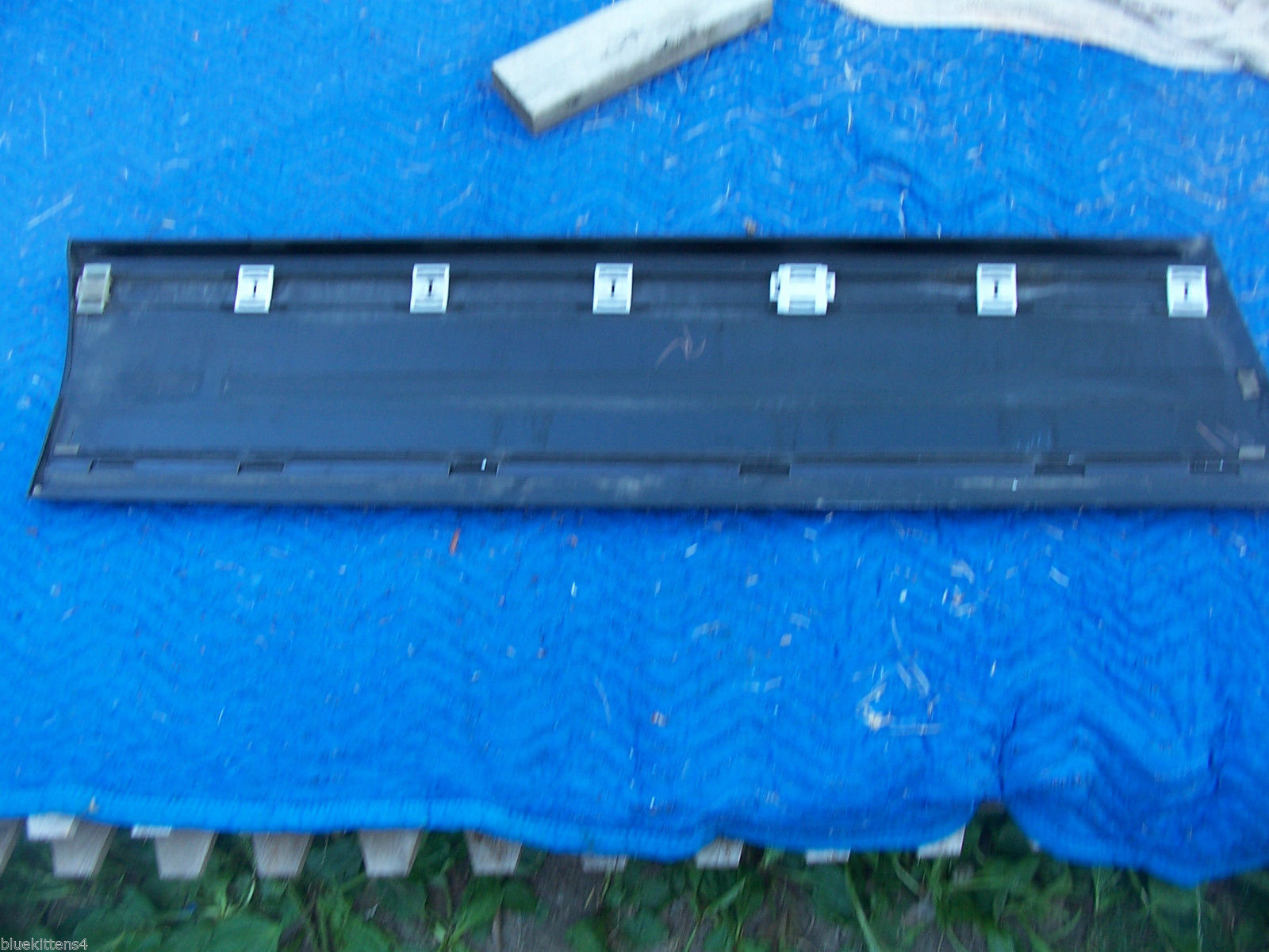 1993 SEVILLE STS RIGHT FRONT DOOR TRIM PANEL GREEN OEM USED GM ORIG CADILLAC image 5