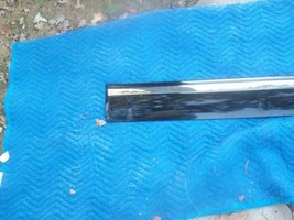 1998 Lincoln Continental Black Left Rear Door Molding Trim Oem Used Orig Lincoln - $41.66