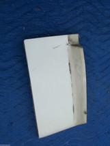 1977 DEVILLE FLEETWOOD RIGHT FRONT FILLER PANEL FENDER EXTENSION OEM USED ORIG image 1