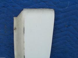 1977 DEVILLE FLEETWOOD RIGHT FRONT FILLER PANEL FENDER EXTENSION OEM USED ORIG image 2