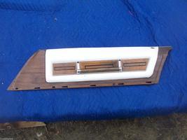 1975 SEDAN DEVILLE RIGHT FRONT DOOR PANEL UPPER HAS TEAR WEAR OEM USED CADILLAC image 1