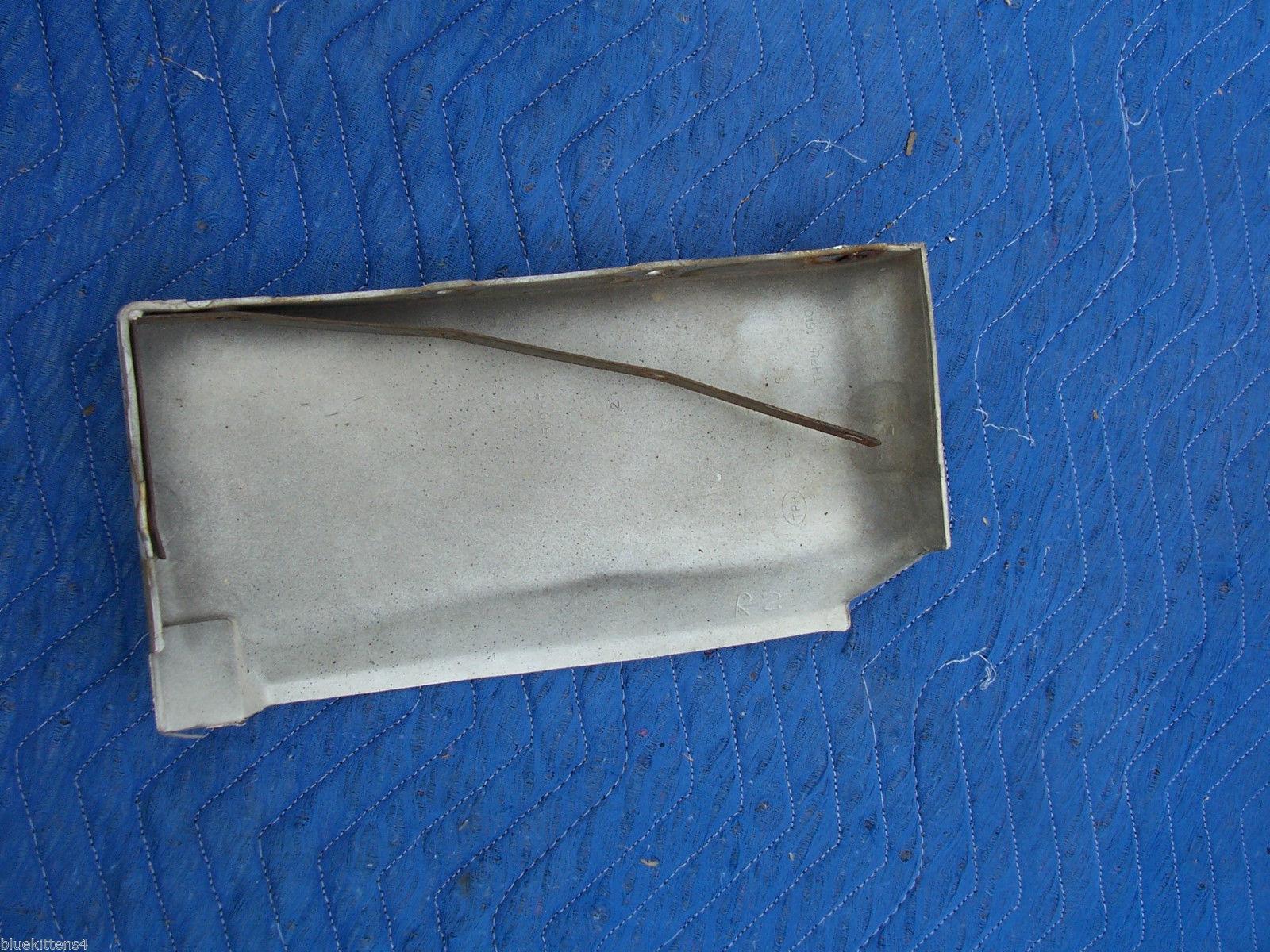 1977 DEVILLE FLEETWOOD RIGHT FRONT FILLER PANEL FENDER EXTENSION OEM USED ORIG image 6