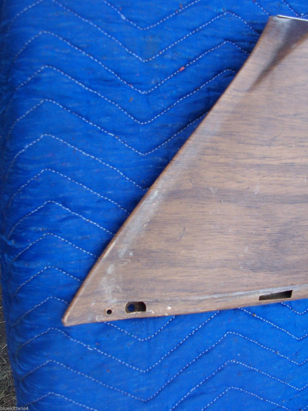 1975 SEDAN DEVILLE RIGHT FRONT DOOR PANEL UPPER HAS TEAR WEAR OEM USED CADILLAC image 5