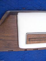 1975 SEDAN DEVILLE RIGHT FRONT DOOR PANEL UPPER HAS TEAR WEAR OEM USED CADILLAC image 6