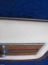 1975 SEDAN DEVILLE RIGHT FRONT DOOR PANEL UPPER HAS TEAR WEAR OEM USED CADILLAC image 9