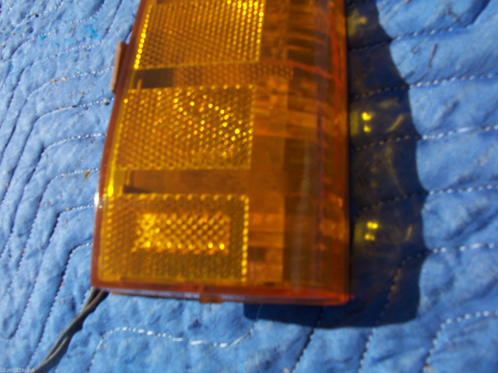 1977 BONNEVILLE RIGHT MARKER CORNER SIGNAL TURN  LIGHT OEM USED ORIG PONTIAC image 4
