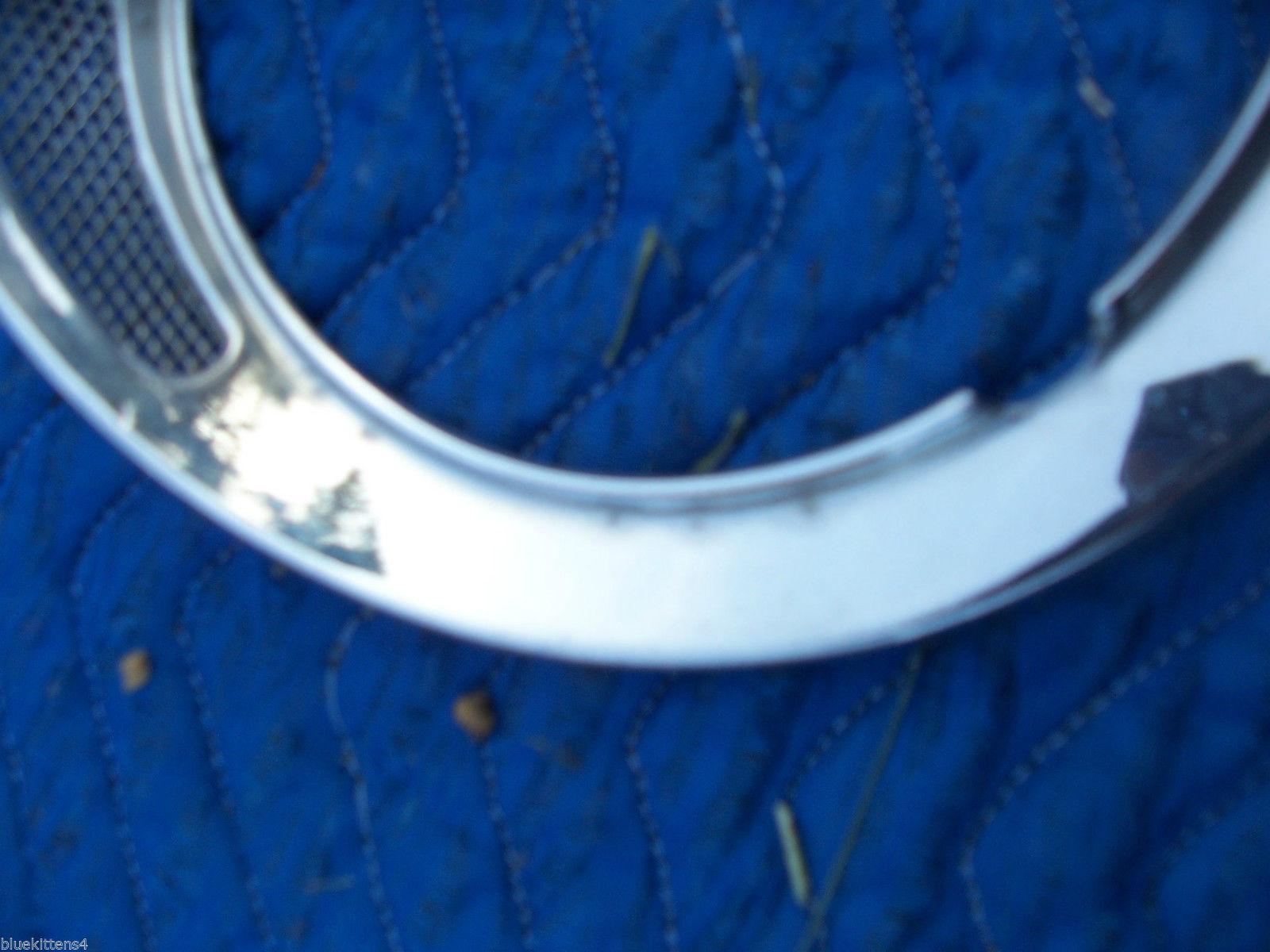 1982 JAGUAR LEFT HEADLIGHT TRIM BEZEL GRILL FENDER RING OEM USED 1980 1981 1983