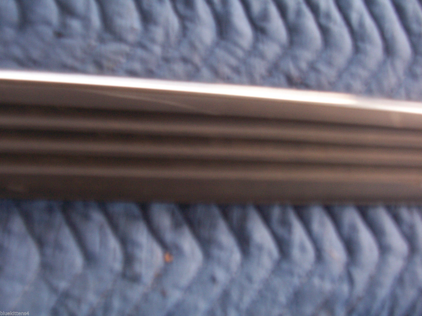 1988 LINCOLN MARK VII 7 RIGHT FENDER FRONT TRIM MOLDING OEM USED 1990 1992 1984