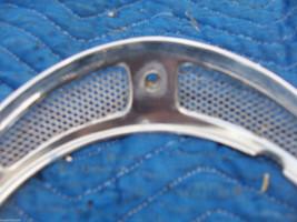 1982 JAGUAR RIGHT HEADLIGHT TRIM BEZEL GRILL FENDER RING OEM USED 1980 1981 1983 image 2