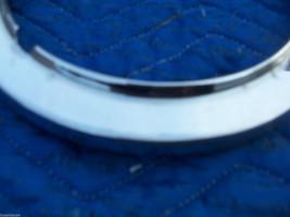 1982 JAGUAR RIGHT HEADLIGHT TRIM BEZEL GRILL FENDER RING OEM USED 1980 1981 1983 image 4