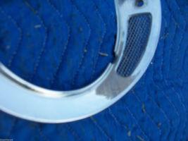 1982 JAGUAR RIGHT HEADLIGHT TRIM BEZEL GRILL FENDER RING OEM USED 1980 1981 1983 image 5