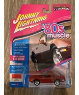 1988 CHEVROLET CORVETTE RED LTD 4036PCS 1/64 JOHNNY LIGHTNING JLMC014/ J... - $14.88