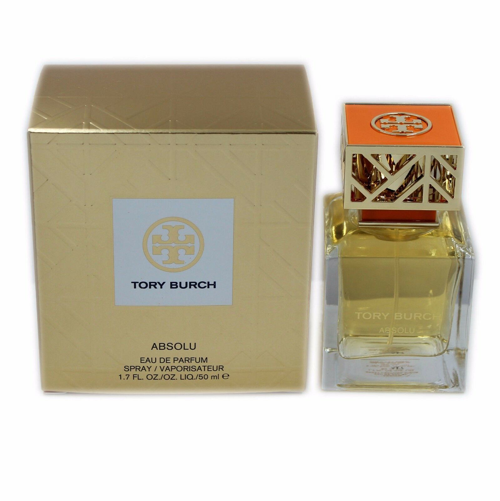Primary image for TORY BURCH ABSOLU EAU DE PARFUM SPRAY 50 ML/1.7 FL.OZ. NIB-5H3R-01