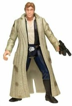 Hasbro Power Of The Force Freeze Frame Endor Han Solo Action Figure NEW - $9.89