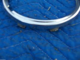 1982 JAGUAR LEFT HEADLIGHT TRIM BEZEL HOOD GRILL OEM USED ORIG 1980 1981 1983 image 4