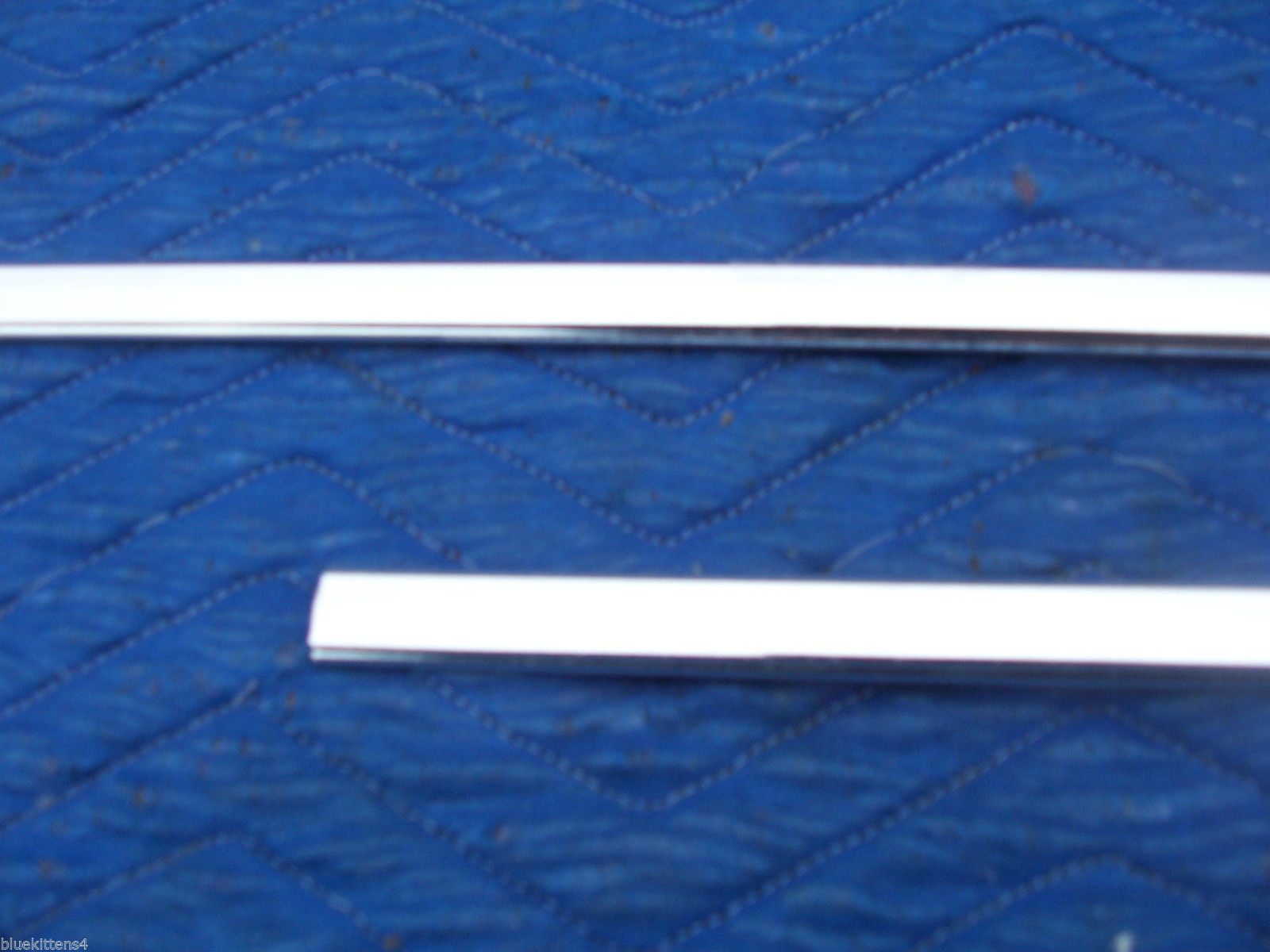 1978 1979  CONTINENTAL TOWNCAR LEFT FRONT DOOR TOP EDGE TRIM MOLDING OEM USED image 4
