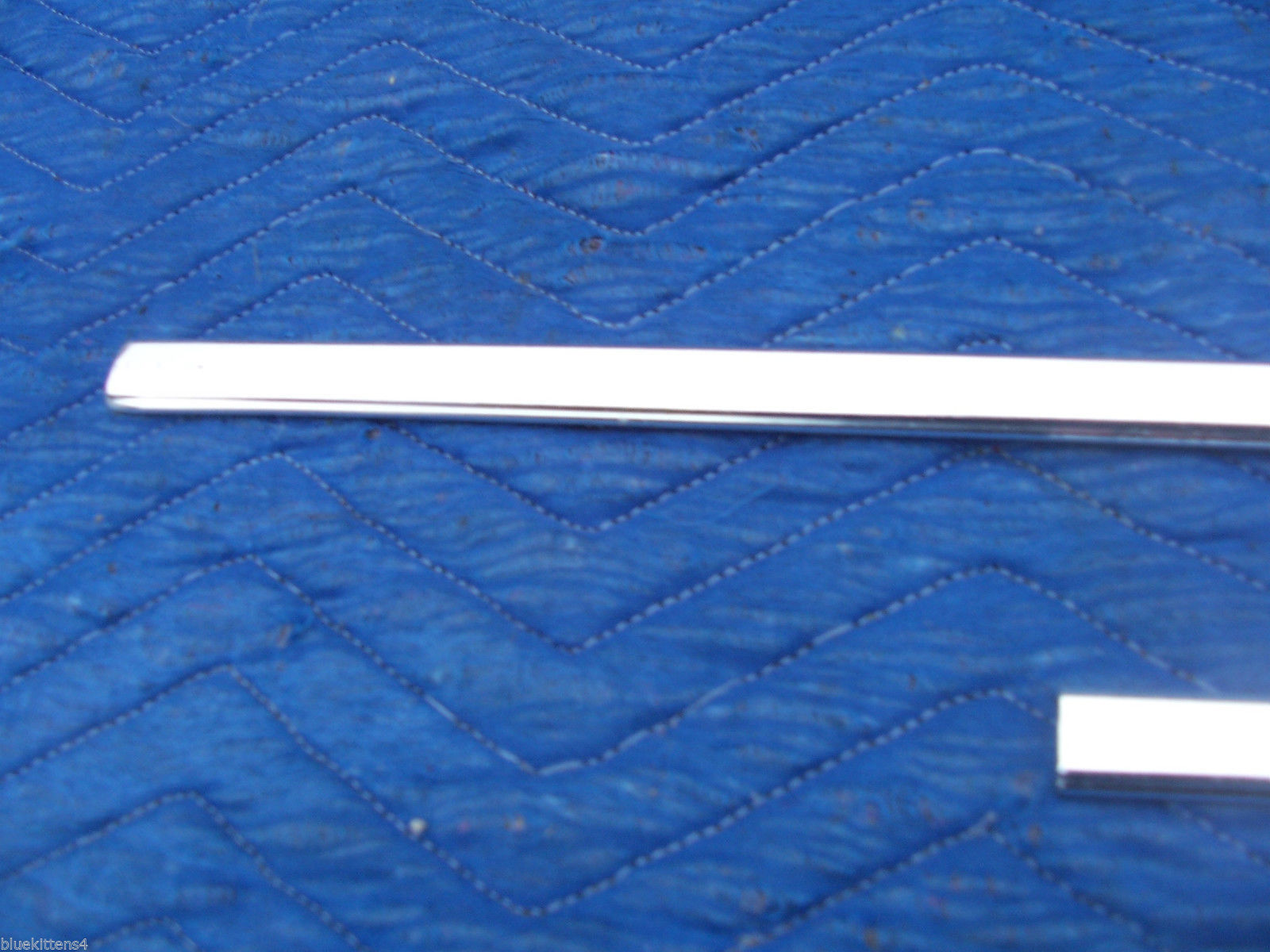 1978 1979  CONTINENTAL TOWNCAR LEFT FRONT DOOR TOP EDGE TRIM MOLDING OEM USED image 3