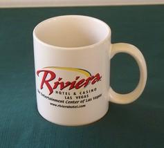 Las Vegas Riviera Hotel 12 Oz Ceramic Coffee Mug VGC - $6.00