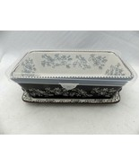 Temp-Tations - Floral Lace Black - 1 Qt. Loaf pan w/Underplate & w/Lid -... - $18.76
