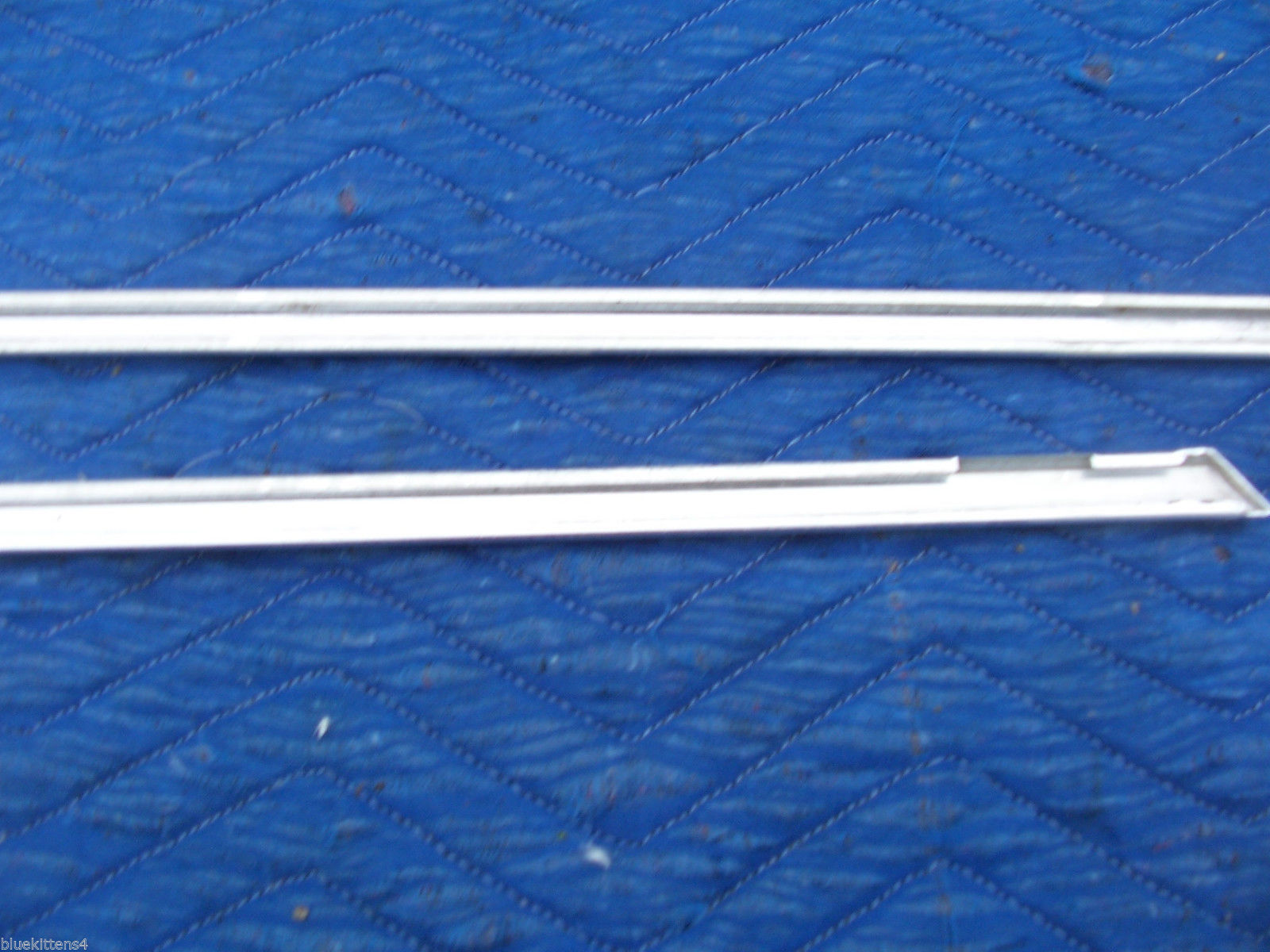 1978 1979  CONTINENTAL TOWNCAR LEFT FRONT DOOR TOP EDGE TRIM MOLDING OEM USED image 7