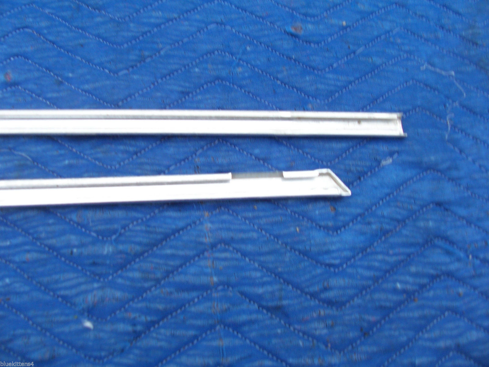 1978 1979  CONTINENTAL TOWNCAR LEFT FRONT DOOR TOP EDGE TRIM MOLDING OEM USED image 8